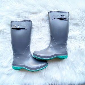 Kamik Chic Rubber Tall Rain Boots
